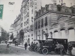 CPA Paris XVII ème Arrondissement Rue Jouffroy Bureau Des Postes Autobus Avion - District 17