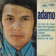 Adamo 45t. EP *j'ai Tant De Rêves Dans Mes Bagages* - Dischi In Vinile