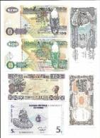 Lot AF05 Africa 6 Banknotes UNC/AUNC - Banknotes
