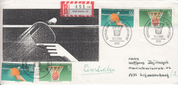 TABLE TENNIS-TISCHTENNIS-PING PONG-TENNIS DE TABLE-TENNIS TAVOLO, W. Germany, 1985, Special Cover !! - Table Tennis