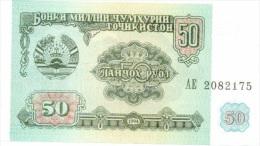 Billet Tadjikistan 50 Roubles NEUF - Tadjikistan