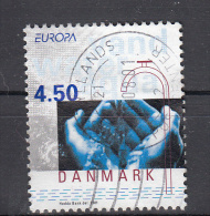 Denemarken 2001 Mi Nr 1277 Water En Handen Europa - Denemarken