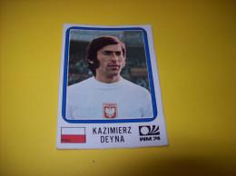 Old Stickers Card - Panini, Munchen 1974, WM74, Kazimierz Deyna - Panini