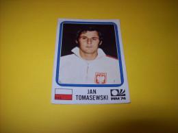 Old Stickers Card - Panini, Munchen 1974, WM74, Jan Tomasewski - Panini