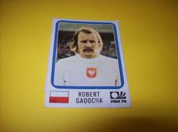 Old Stickers Card - Panini, Munchen 1974, WM74, Robert Gadocha - Panini