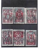 OPK242  JUGOSLAWIEN 1920 MICHL  139/44  Used / Gestempelt  Siehe ABBILDUNG - 1919-1929 Kingdom Of Serbs, Croats And Slovenes