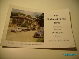 WATERBEACH GOODWOOD , THE RICHMOND ARMS HOTEL  , PORTSMOUTH  STAMP, 1967 OLD POSTCARD , O - Chichester
