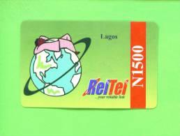 NIGERIA - Remote Phonecard As Scan - Nigeria