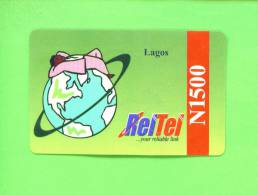 NIGERIA - Remote Phonecard As Scan