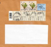 Österreich - Schöne 7 Fach Frankierung Auf Brief - 2011-... Cartas