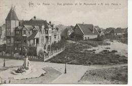 La Panne-Vue Générale Et Le Monument. - Belgium