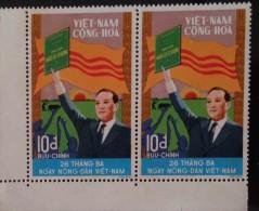 South Vietnam Viet Nam MNH Perf Stamps 1974 : President Thieu - Vietnam
