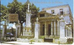 TELECARTE PHONECARD CUBA $ 20 480 ANNIVERSAIRE DE LA FONDATION  DE LA BABANA LA HAVANE - Cuba