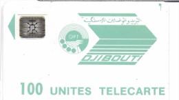 TELECARTE PHONECARD DJIBOUTI  100 UNITES - Djibouti
