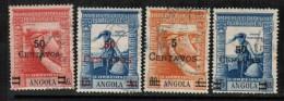 ANGOLA  Scott  # 301-4 VF USED - Angola
