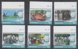 BAHAMAS, 2015, MNH, GIRL GUIDES, KAYAKING, 6v - Scouting