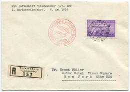 345 - 1. Nordamerikafahrt Mit L.Z. 129 - Poste Aérienne