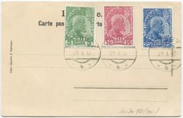 343 - 1. Serie Mit Vorersttag-Stempel VADUZ 29.1.1912 - Liechtenstein