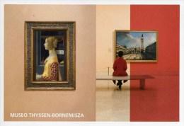 """Entier Postal De 2015 Sur CP Avec Timbre Et Illust.  """"Musée Thyssen-Bornemisza De Madrid"""" - Enteros Postales"""