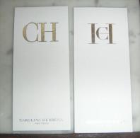 Carte Parfumée Carolina Herrera - Cartes Parfumées