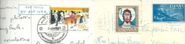 Lot De 6 Cartes Postales Thailande Espagne Maroc Yougoslavie Tunisie - Sammlungen (ohne Album)