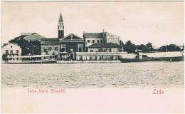 """Italie:venise. Lido. """"santa Maria Elizabeth"""" - Venezia (Venedig)"""