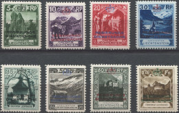 256 - 1. Dienstmarken Serie Postfrisch - Dienstpost