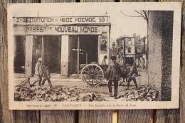 Carte Postale Ancienne Guerre 1914 Salonique Rue Egnatia Près Le Bazar De Lyon - Guerre 1914-18