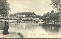 Liverdun Vue Generale Prise Du Pont Du Canal - Liverdun