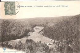 BRUYERES EN VOSGES_Le Vallon De La Basse De L´Ane_Ed Briot_circulé En 1919_convoyeur Ligne ST DIE à EPINAL - Bruyeres