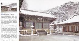 Korea - Snow Scene Of Pagyesa Temple, Dong-gu Of Daegu - Corée Du Sud
