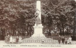 Louhans (Saone Et Loire) - Le Monument De La Bresse Louhanaise - Enfants - Edition Lanaud-Roy - Louhans