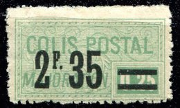Colis Postaux ** N° 44 - 2F 35 S. 0,25 Vert . - Neufs