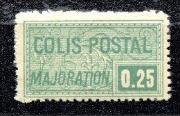 Colis Postaux ** N° 78 -  25c Vert - Neufs