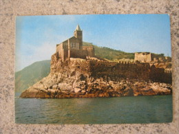 CA3 PORTOVENERE LA SPEZIA LIGURIA VG. 1982 MARE CHIESA DI SAN PIETRO SCOGLIO - La Spezia