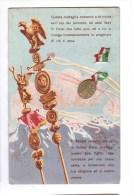 """"""" Questa Medaglia Conserva A Te Vicina....."""" Da Roma Per Zona Guerra 4 Marzo 1917 Very Fine Used - War 1914-18"""