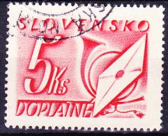 Slowakei Slovakia Slovaquie - Portomarken/postage Due/taxe (Mi.Nr. 37) 1942 - Gest. Used Obl. - Used Stamps