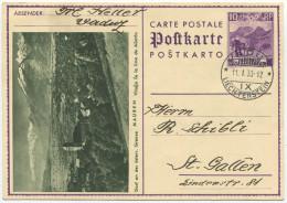 339 - 10 Rp. Bildpostkarte MAUREN - Ganzsachen