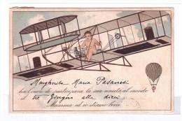 """Berthing Of """".... Ha L'onore Di Partecipare Alla Sua Venuta Al Mondo....""""from Naples To Rome 3-6-1909 - Babies"""