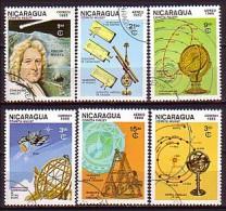 NICARAGUA \ 1985 - Espase - 6v Obl. - Asia