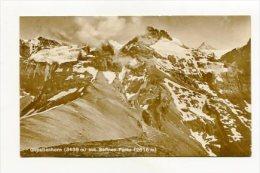 SWITZERLAND - AK 253062 Gspaltenhorn (33436 M) Mit Sefinen-Furke (2616 M) - BE Berne