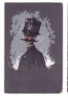 Humorous Postcard    Austrian Soldier  Unused Some Defects On The Corners - Humour