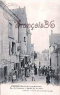 (37) Chouzé Sur Loire - Rue Du Commerce - 2 SCANS - France