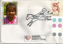 USA. National Association Of Retarded Children, Belle Lettre De Dodge (Dakota Du Nord) - Handicaps