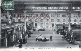 (37) Tours - Intérieur De La Gare - 2 SCANS - Tours