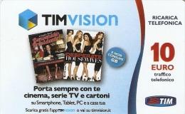 *ITALIA - TIM: TIM VISION (Tvic-10-C)* - Ricarica Usata - [2] Tarjetas Móviles, Prepagadas & Recargos
