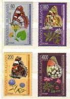 BULGARIA \ BULGARIE - 1998 - Papillons - 4v** - Schmetterlinge