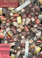 500 ANILLOS PARA FUMADORES - VITOLAS - COLLARETAS DE CIGARROS Y ESTAMPILLAS FISCALES LOTE DE 500 BAGUES DE CIGARE - Cigar Bands