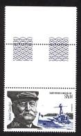 Sp & Mq 2015 - Yv N° 1146 ** - Admiral Gauchet (Mi N° 1239) - Nuevos