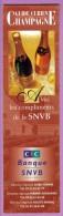 Marque-page °° Guide Curien De La Champagne -  SNVB CIC - V.uni  6x20 - Marque-Pages